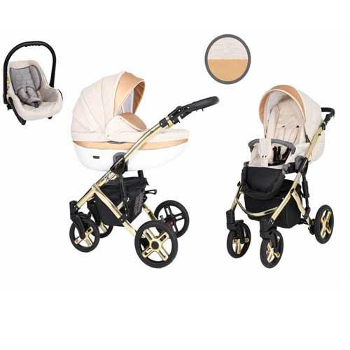 Καρότσι,-Πορτ-Μπεμπέ--Κάθισμα-Αυτοκινήτου-0-13-kg-Mila-Premium-Gold-Crem