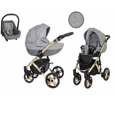 Καρότσι,-Πορτ-Μπεμπέ--Κάθισμα-Αυτοκινήτου-0-13-kg-Mila-Premium-Gold-Grafit