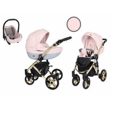 Καρότσι,-Πορτ-Μπεμπέ--Κάθισμα-Αυτοκινήτου-0-13-kg-Mila-Premium-Gold-Pink