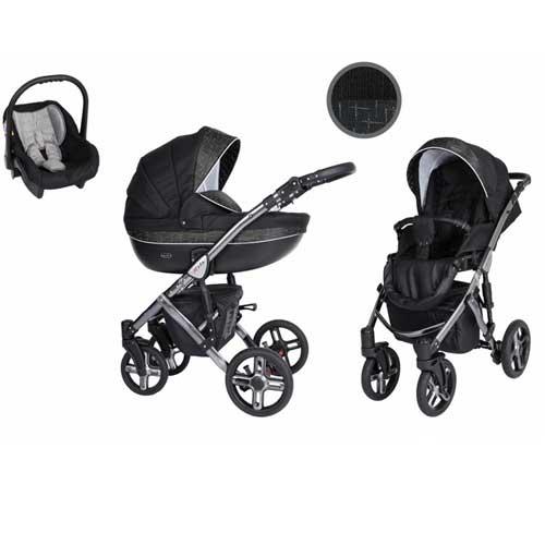 Καρότσι,-Πορτ--Μπεμπέ-Κάθισμα-Αυτοκινήτου-0-13-kg-Mila-Premium-Silver-Black