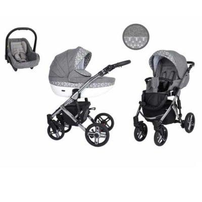 Καρότσι,-Πορτ-Μπεμπέ--Κάθισμα-Αυτοκινήτου-0-13-kg-Mila-Premium-Silver-Grey